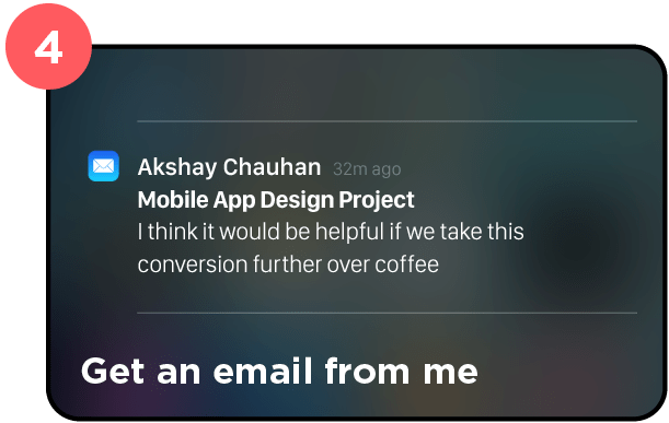 4. Contact Akshay Chauhan Product Designer