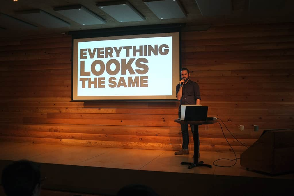 Travis Gertz at Type Brigade №26: Breakpoints & Flashpoints