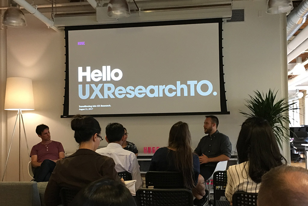 Transitioning Into UX Research - August Edition of UXResearchTO