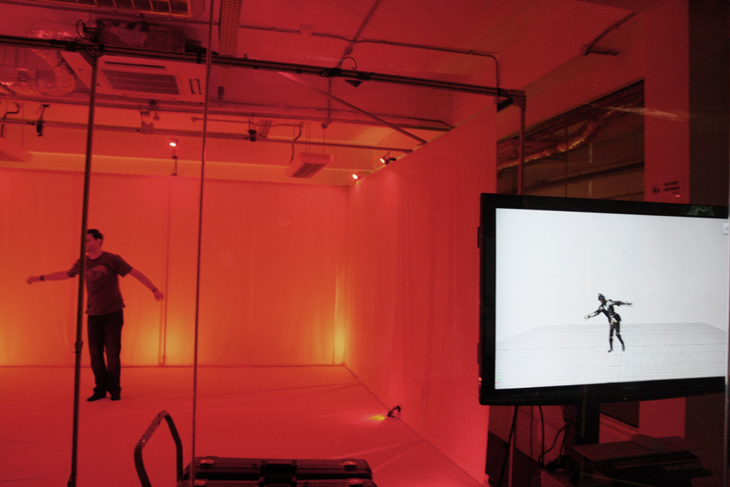 Optical Motion Capture Demo at NYU TischAsia